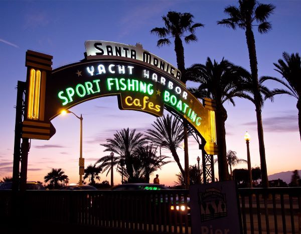 California residents are looking to visit local attractions like the Santa Monica Pier. How can you serve them? - Photo via Wikimedia Commons/web4camguy.