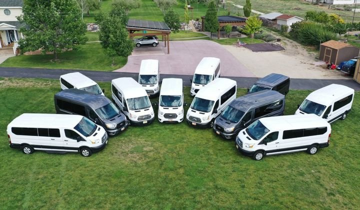Rabbit Rentals only rents Ford Transit vans— and with the new AWD version out now, they've got their eyes on marketing to Utah's winter market. - Photo courtesy Rabbit Rentals