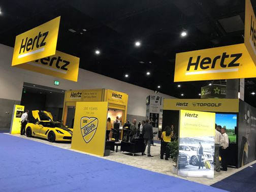 The company has been leveraging its multiple used-car channels and negotiating with suppliers to defer new fleet deliveries or modify previously placed orders.  - Photo courtesy of Hertz.