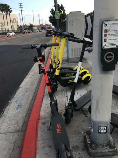 When carsharing was gaining steam, few predicted the phenomenon of micro-mobility in the form of electric scooters, which ate into a percentage of carsharing trips of two to five miles. - Photo by Chris Brown.