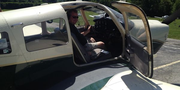 Tom Mellett has been piloting his four-seat, single-engine Piper Archer plane in the service of...
