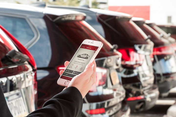 In a completely contactless rental, the customer accesses the vehicle through a pin code, a smartphone, or similar method — all without any face-to-face contact with the car rental operator. - Photo courtesy of Avis.