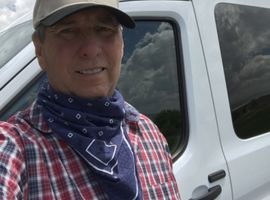 Rich Guernsey, owner of Rabbit Rentals in Utah, installed keypads on the doors of his vans for...