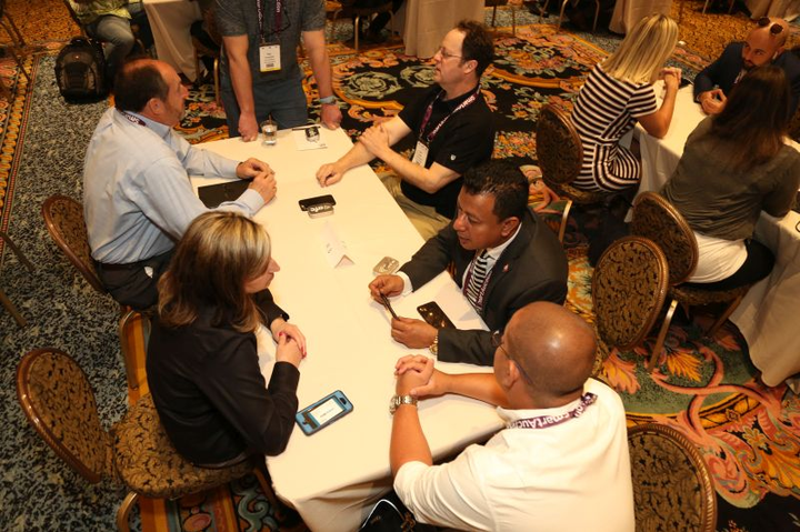 Networking is an essential part of the International Car Rental Show.  -