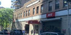 Kusinitz took this photo of customers waiting outside an Avis location on Manhattan's Upper East Side. That line is less a function of a spike in demand and more of an imbalance of cars at that location, he believes.