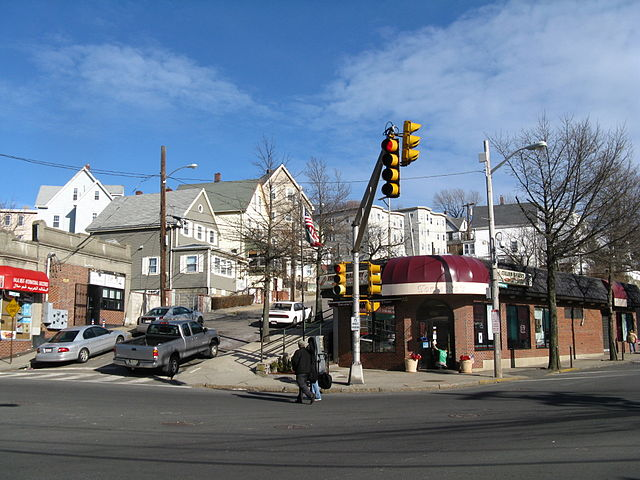 The town of Revere, Mass., became a symbol of the car rental excise tax fight when a Thrifty Car Rental location moved from the town toBoston's rental car facility serving Logan Airport, taking $750,000 in excise taxes with it.  - Photo via John Phelan/Wikimedia Commons.