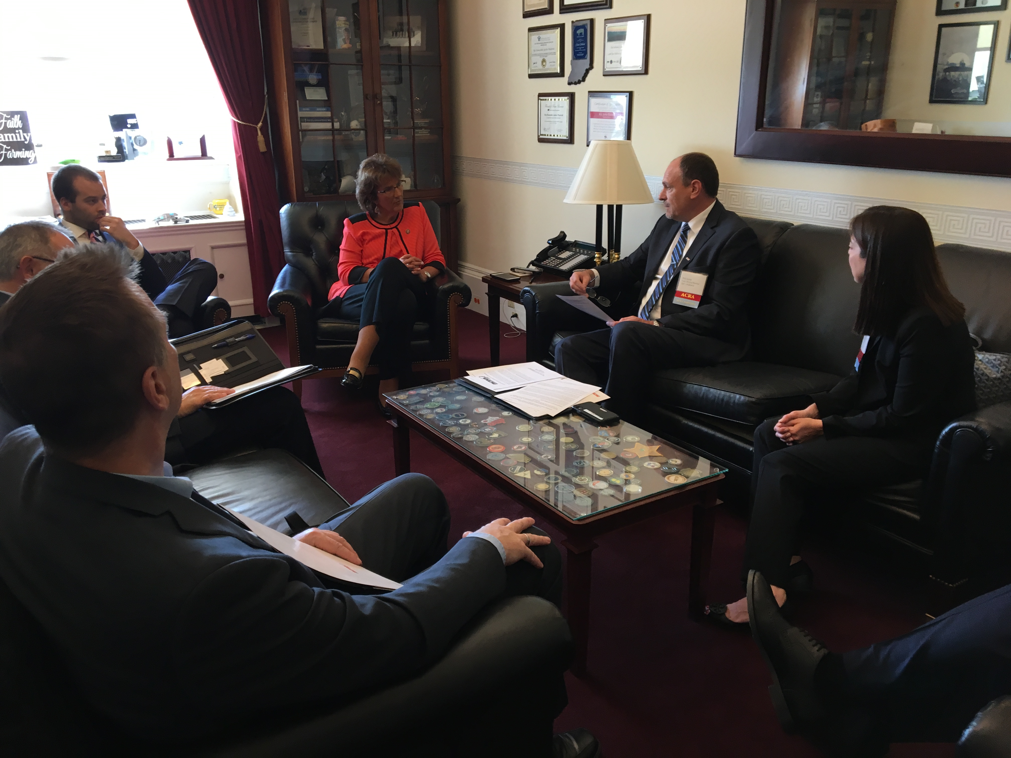 The ACRA Midwestern delegation meets with Representative Jackie Walorski (R-IN2). - Photo by Chris Brown.