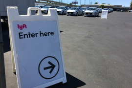 My Experience Renting a Car from Lyft at LAX