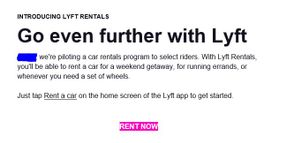 Lyft Has Started a Daily Rental Service — What Does it Mean?
