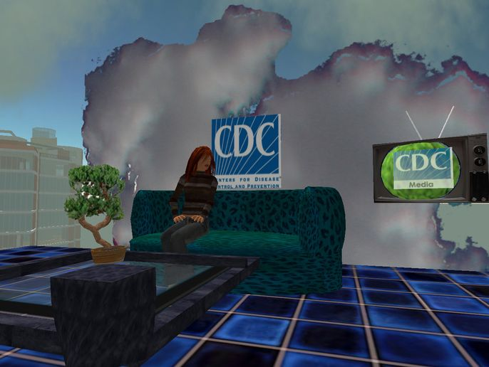 Second Life is an online world that was popular in the early years of the new millenium. Major brands spent substantial marketing dollars to reach consumers in this world. - Photo courtesy of Centers for Disease Control.