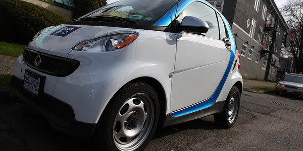 Vancouver Allows Free Metered Parking for Carshare Drivers