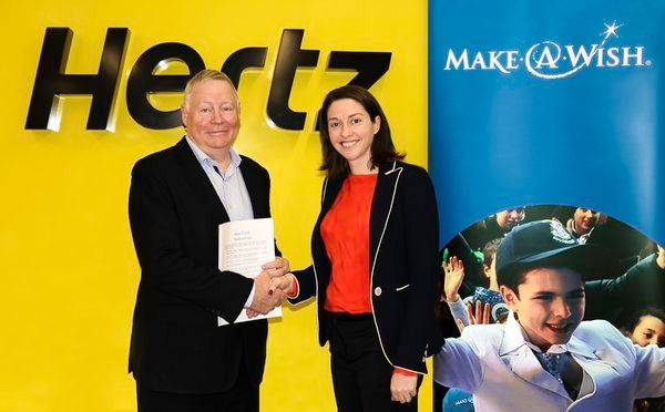 Hertz will be providing families travelling as part of their child's wish with free of charge (FOC) rental vehicles, across six countries in Asia Pacific. - Photo via Hertz Asia Pacific.