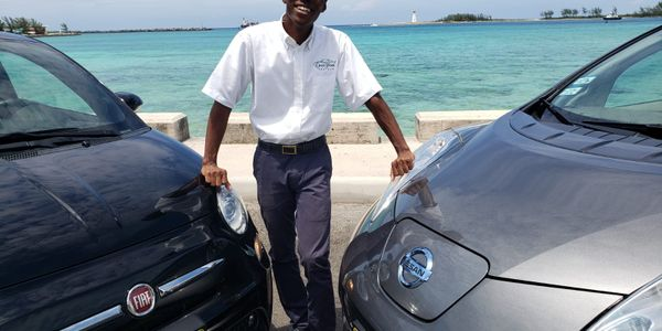 Benjamin Davis is president of Drive Green Car Rentals serving Nassau and surrounding resort...