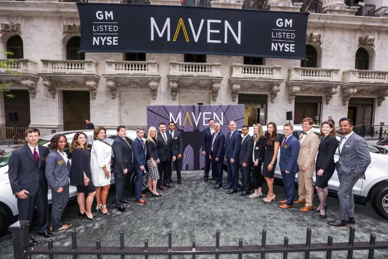 GM to Shutter Maven Carsharing Brand