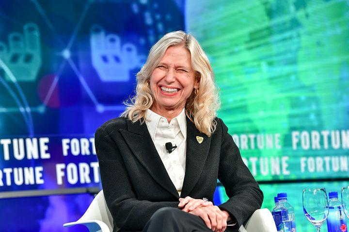 Kathy Marinello spoke at Fortune's Brainstorm Reinvent in 2018. - Photo via Flickr, Stuart Isett/Fortune