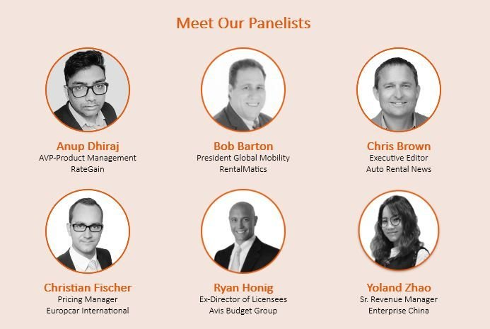 Experts from the global spectrum of car rental will share insights. - Image courtesy of RateGain.