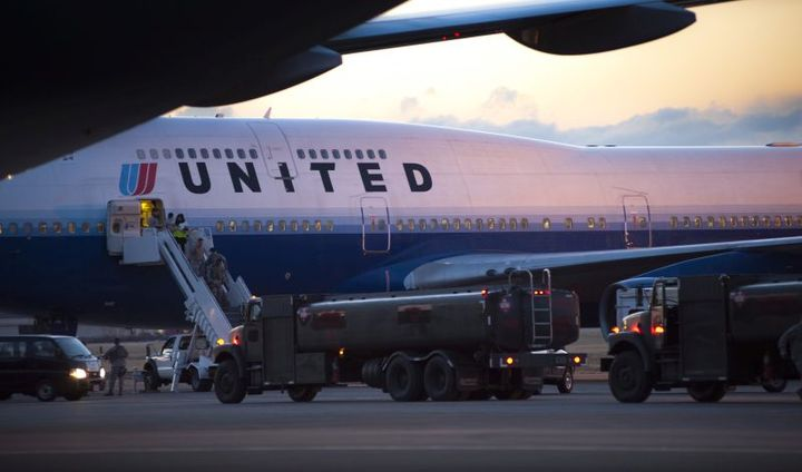 United will reinstate flights at over 150 of its U.S and Canadian destinations next month, which will result in about 30% of its domestic capacity compared with a year earlier. - Photo via Yokata Air Force Base.