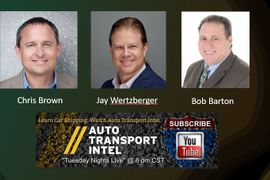Barton, Brown Discuss Car Rental on YouTube's Auto Transport Intel