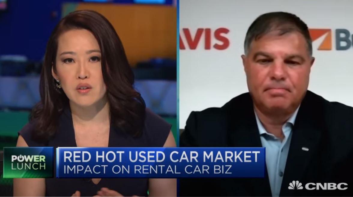 Avis CEO Ferraro Talks Pandemic Pivot on CNBC