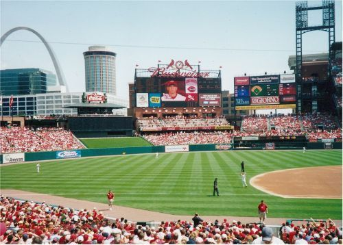The Cardinals left the confines of Busch Stadium to travel in quarantine to Chicago. - Photo courtesy of needpix.com.