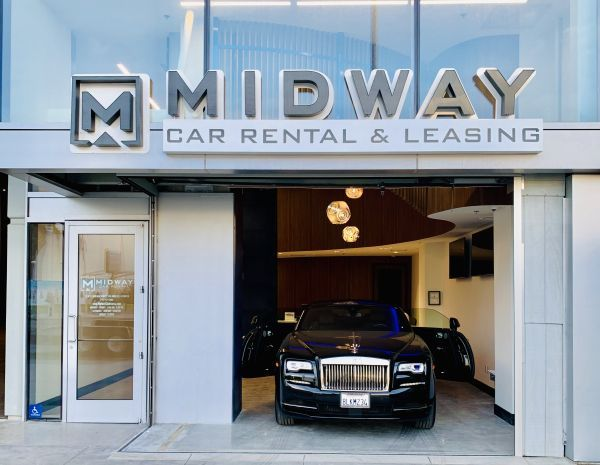 Midway Car Rental is the largest privately held rental car agency in Los Angeles and a part of the Hankey Group, with nine rental locations in Southern California. - Photo courtesy of Midway Car Rental.
