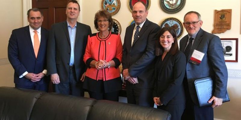 ACRA members discussed the issues with Indiana Rep. Jackie Walorski (R-Second District) at the...