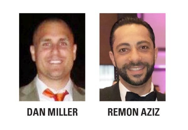 Dan Miller and Remon Aziz areco-owners of the ACE affiliate at Orlando International Airport (MCO). -