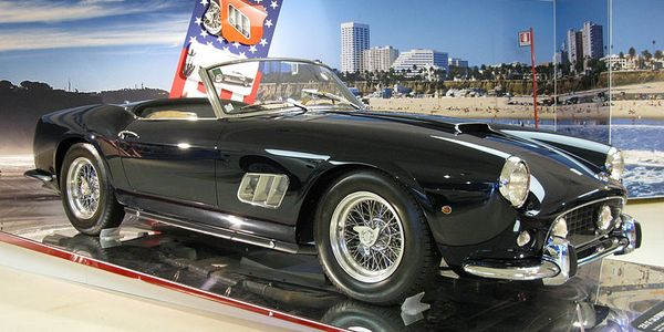 The rental program has a 1957 Ferrari 250 GT Spider like this one that will set you back $18,275...