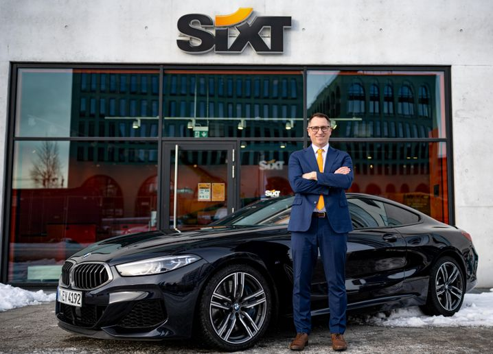 Forty-three-year-old Gabriel is an experienced manager who started off as a trainee at Sixt in 2004 and knows the company inside out. - Photo courtesy of Sixt.