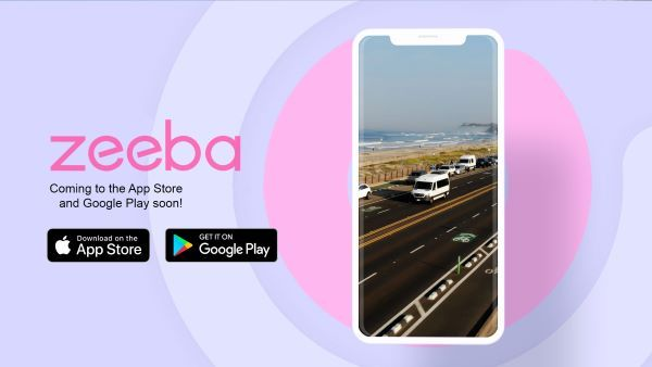 The rental platform is developing a mobile app that includeslive vehicle location, driving behavior, vehicle impact, and boundary restrictions. - Image courtesy of Zeeba.