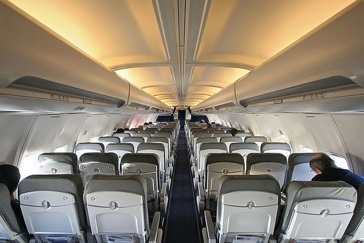 Air travel is coming back. ACRA would like a representative from the car rental industry be included in the membership of a possible Aviation Recovery Commission. - Photo via Wikimedia Commons/Lufthansa 737 interior.