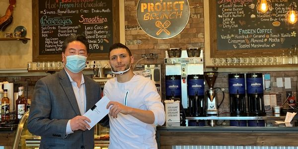 Project Brunch in New Jersey is one of the many local restaurants from where Enterprise...