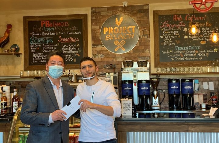 Project Brunch in New Jersey is one of the many local restaurants from where Enterprise purchased gift cards for employees. - Photo courtesy of Enterprise.