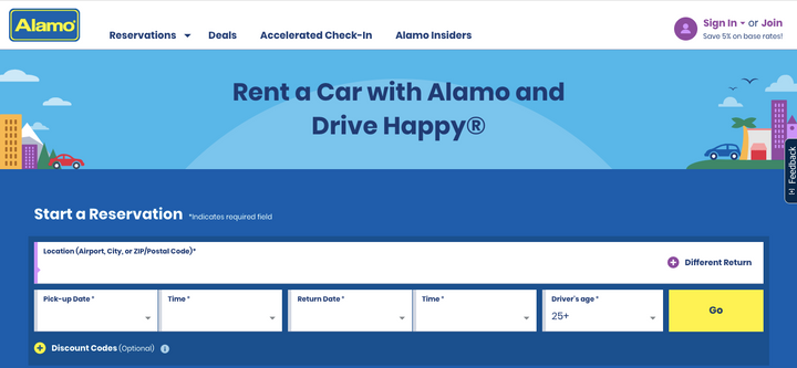 This, combined with the Complete Clean Pledge enhanced by a new collaboration with Clorox, is meant to help pent-up travelers get back on the road when they are ready to travel. - Screenshot via Alamo.