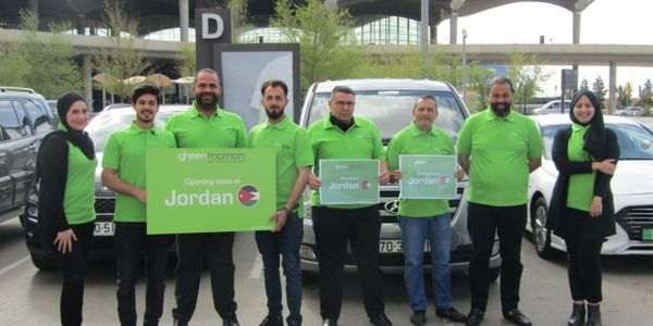 From right to left — Team Green Motion Jordan: Stella, Mr. Maher, Mark, Nedal, Kareem, Mohammad,...