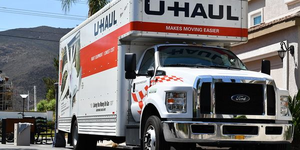 Unlike this 15-foot U-Haul moving truck, tourists to Hawaii are renting pickup trucks and cargo...