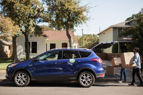 In Philadelphia, nearly 81% of Zipcar members do not own or lease a car. - Photo courtesy of Zipcar.
