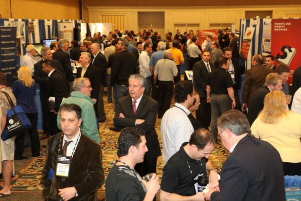 The 2021 ICRS will feature its traditional exhibit hall. - Photo by Steve Reed.