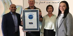 Omega Earns Top Customer Satisfaction Award