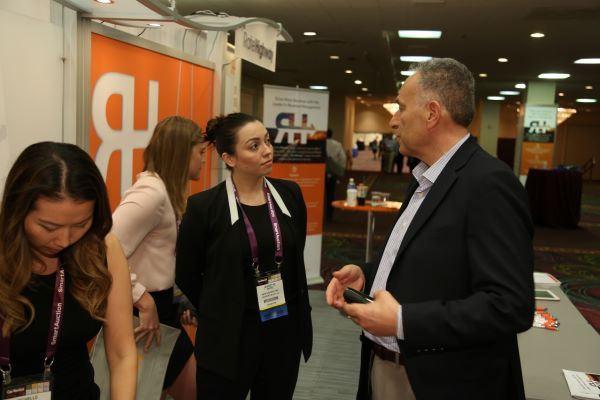 Once again, ICRS attendees will understand new products and services through face-to-face conversations and demos. - Photo by Steve Reed.