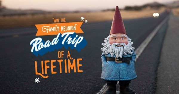 Customers mustsubmit a short essay on why they want to take their family on a road trip of a lifetime towin theall-expenses-paid trip. - Photo courtesy of Thrifty Car Rental.