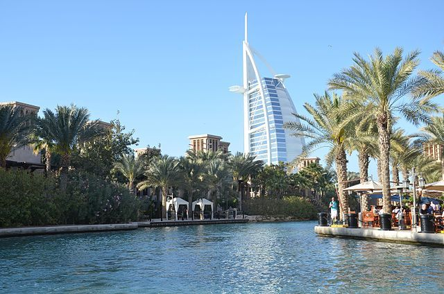 Renters in Dubai can rent throughAmazon Home Services. The cars are delivered directly to the selected address as early as three hours from the time of booking. - Photo via Wikimedia Commons/777777kz.