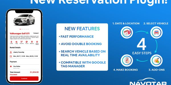 The plugin features a customizable reservation process to different website designs.