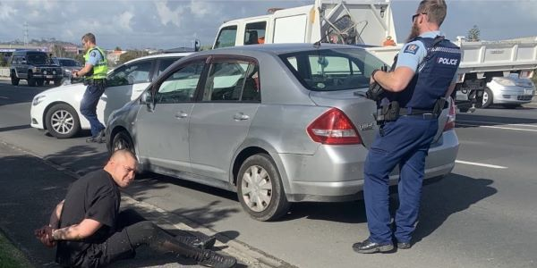 Scotties Car Rentals gave the police updates during the thieves' 25-kilometer journey across...