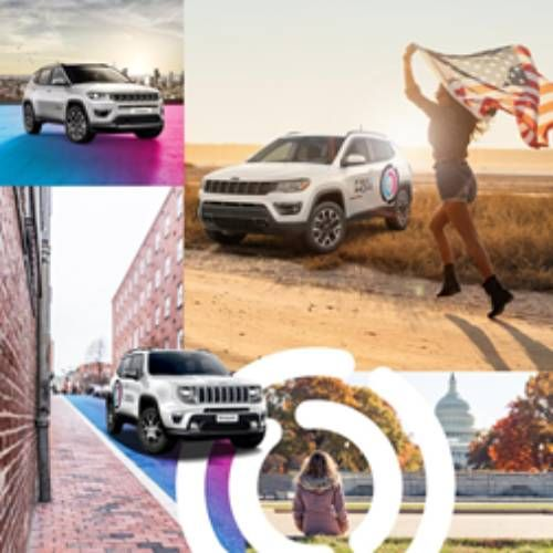 Free2Move's new on-demand car rental service is available through an app. The service launches in Washington, D.C. with a fleet of Jeep Renegades. - Image: Free2Move