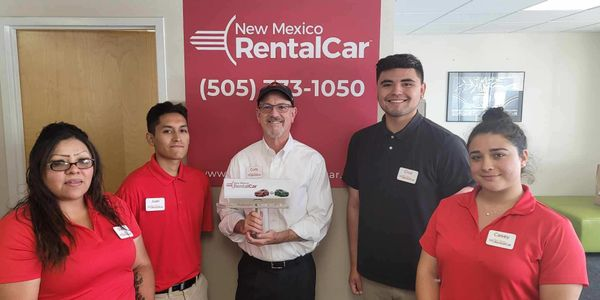 New Mexico Rental Car employs five full-time employees and operates by owner Cody Enloe.