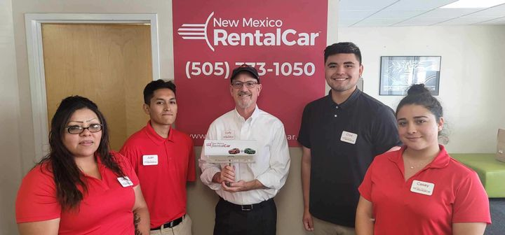 New Mexico Rental Car employs five full-time employees and operates by owner Cody Enloe. - Photo courtesy of New Mexico Rental Car.