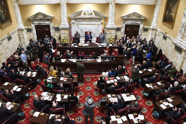 The passage of Maryland Senate Bill 743, the first comprehensive state law to require peer-to-peercar rental companies to comply with state tax, insurance, and safety laws and regulations, was enacted on May 26 and takes effect on July 1.  - Photo of Maryland Legislature viaMaryland GovPics/Flickr.