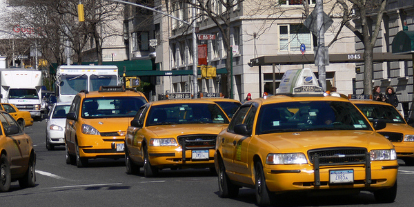 Taxi drivers in Syracuse, N.Y., have reported shrinking operations as companies such as Uber and...