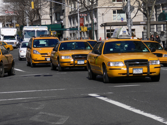Jerry Crosby, a driver with Yellow Cab of Charleston, got the idea when Uber and Lyft starting operating in his city a few years ago.